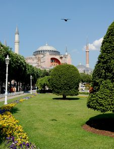 Free Hagia Sophia Church And Mosque Stock Photos - 5177033