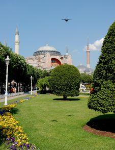 Hagia Sophia Church And Mosque Stock Photos