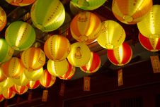 Vesak Light Up 2008 Royalty Free Stock Photos