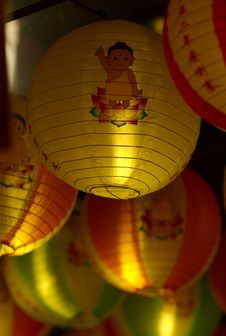 Vesak Light Up 2008 Royalty Free Stock Image