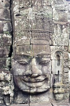 Free Cambodia; Angkor; Bayon Temple Royalty Free Stock Photos - 5177128