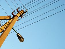 Free Power Lines Stock Photography - 5177242