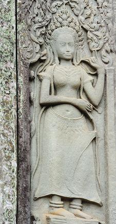 Free Cambodia; Angkor; Bayon Temple Stock Photography - 5177282