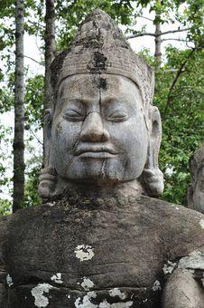 Free Cambodia; Angkor; Bayon Temple Stock Image - 5177321