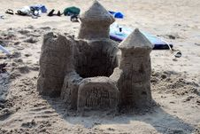 Free Sand Castle Royalty Free Stock Photos - 5178198