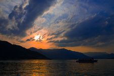 Iseo Lake Stock Image