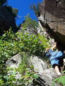 Free Rock Climbing In Canada Royalty Free Stock Images - 5178399