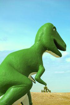 Free Green Dino Royalty Free Stock Photos - 5178548
