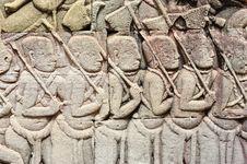 Free Cambodia; Angkor; Bayon Temple Royalty Free Stock Image - 5179276