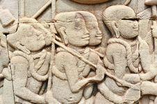 Free Cambodia; Angkor; Bayon Temple Stock Images - 5179304