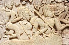 Free Cambodia; Angkor; Bayon Temple Stock Images - 5179394