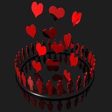 Love Logo Royalty Free Stock Image