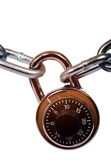 Free Lock And Chain Royalty Free Stock Photography - 5179787