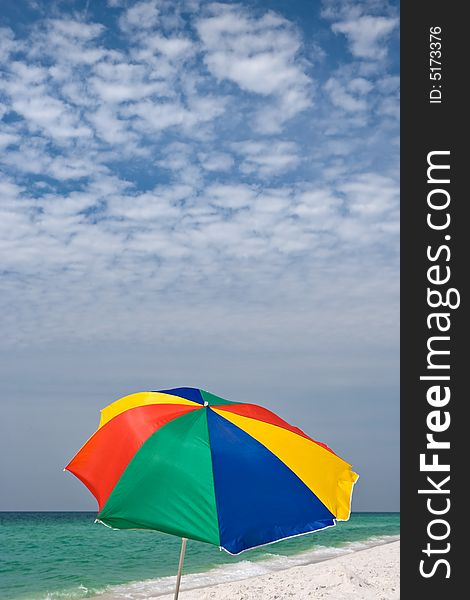 Colorful Beach Background