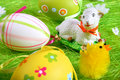 Free Painted Easter Eggs Stock Photos - 5186103