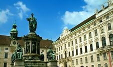 Free Monument In Front Of Imperial Palace, Vienna Stock Image - 5180541