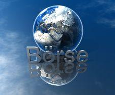 Free Logo Börse Royalty Free Stock Photo - 5180575