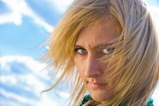 Free Stylish Blonde Portrait Stock Photo - 5180650