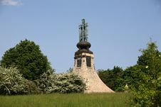 Free Burial Mound Of Peace - Austrelitz Royalty Free Stock Photos - 5181288