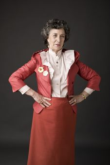 Free Portrait Of A Senior Lady Royalty Free Stock Photos - 5181898