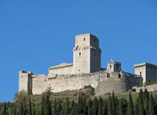 Free Assisi Ancient Castle Stock Photo - 5182120