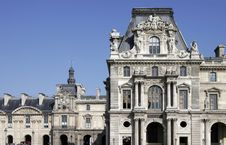 Free Typical Old French Building Facade In Paris, Franc Royalty Free Stock Photos - 5182128
