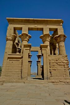 Free Philae Island - Egypt Stock Photography - 5182222