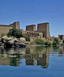 Free Philae Island - Egypt Royalty Free Stock Photography - 5182307