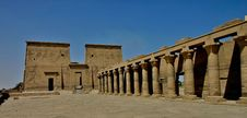 Free Philae Temple Colums Royalty Free Stock Photography - 5182427
