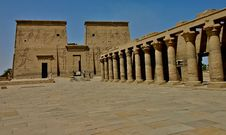 Free Philae Temple Colums Stock Photography - 5182432