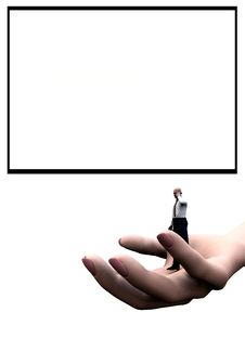 Free Blank Area Helping Hand 2 Stock Images - 5182434