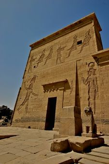 Free Philae Island Hieroglyphs - Egypt Stock Image - 5182661