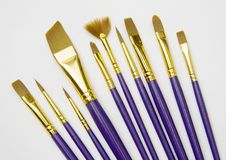 Free Group Of Brushes Royalty Free Stock Photography - 5182837
