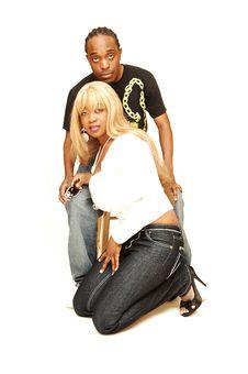 Young Black Couple. Royalty Free Stock Photos