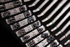 Free Old Typewriter Stock Image - 5183011