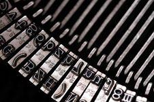 Free Old Typewriter Royalty Free Stock Image - 5183056