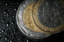 Free Euro Coins Stock Photography - 5183372