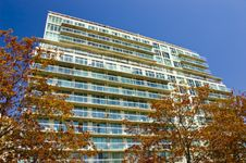 Free Condominium With Balconies Royalty Free Stock Photo - 5183625