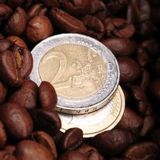 Money And  Coffee Stock Photos