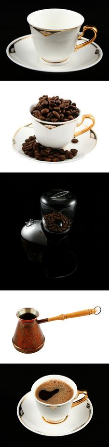 Free How To Make Coffee Royalty Free Stock Photo - 5183785
