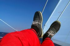 Free Rest At Sailing Stock Photo - 5184090
