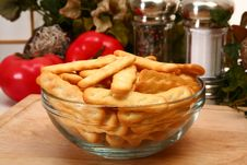 Free Club Crackers In Kitchen Or Restaurant Royalty Free Stock Image - 5184596