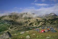 Carpathian Mountains Called Retezat Royalty Free Stock Photography