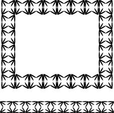 Swirl Design Frame And Border Stock Photos