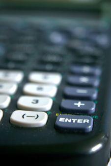 Free Calculator Stock Photography - 5187462