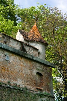 Citadel Of Brasov - Romania Stock Photography