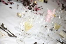 Free Champagne In A Glass Royalty Free Stock Photos - 5187688