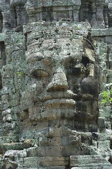 Free Cambodia Angkor Bayon Temple Stock Photography - 5187982