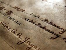 Free Handwriting Stock Photos - 5188513
