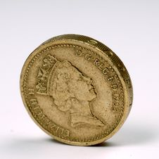 Free One Pound Sterling Stock Image - 5188721